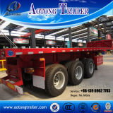 3개의 차축은 트레일러 (LAT9600) 편든다 상승 덤프 트럭
