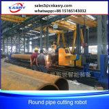 Berufsfabrik-Kohlenstoffstahl-runder Rohr-Herstellungs-Maschinerie-Plasma-Schrägflächen-Ausschnitt