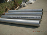 Cilindros inoxidáveis do fio da cunha Steel321 para a água industrial e municipal