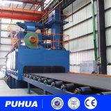 Máquina de sopro do tiro do transporte de rolo para a construção de aço