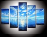 Pintura al óleo hermosa de Seascape en Canvas Picture para Home Decoration (SE-180)