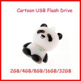 Mecanismo impulsor del flash del USB de la panda del disco de la memoria U del USB de la historieta