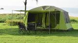 كبير قبة خيمة لأنّ 8+ أشخاص أسرة خارجيّ يخيّم