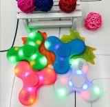 Giocattoli di spirale di decompressione di musica di Bluetooth del filatore di irrequietezza della mano Spinner/LED del giocattolo