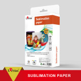 Papel de la sublimación del tinte 100GSM de la inyección de tinta el 1.6*100m en papel de imprenta del rodillo