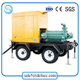 Mehrstufendruck-horizontale Dieselmotor-Schleuderpumpe für Wasserwerk