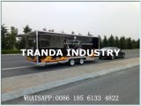 Remorque mobile de système de caravane d'aliments de préparation rapide de la CE