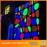 Folha plástica do plexiglás do perspex da cor translúcida para a iluminação