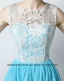 Женщины a - линия безрукавный шифоновые платья Bridesmaid партии вечера