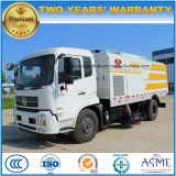 Dongfeng 6000-8000 M2の自動真空の掃除人の道のトラック