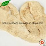브라운 황금 색깔에 있는 100%년 멧누에 실크 양탄자 털실