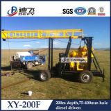 prix bon marché de machines de plates-formes de forage de l'eau de 100-200m à vendre