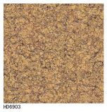 600*600倍の料金の黒のTropicanaの磨かれた磁器の床タイル