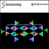 Stab Club Decoration RGB 34 3D Effect Triangle LED Wall Backdrop