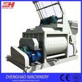 Misturador concreto 75m3/H de Js1500 1500L para a planta Hzs60 de tratamento por lotes concreta