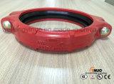 Pulgada Grooved de los acopladores 114.3mm/4 del hierro dúctil aprobado de la UL de FM
