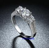 Heet verkoop de Ringen van het Messing van het Zirkoon van Juwelen (R0839)
