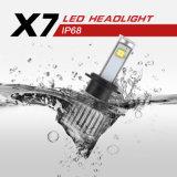 Le phare H1 du véhicule le plus neuf DEL du prochain rétablissement X7 7200lm