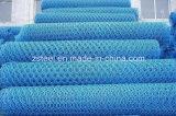 PVC 입히는 6각형 철망사 또는 담
