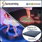 Eindeutiges Efftecs für Kidsgarden Disco LED interaktives Dance Floor