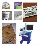 Маркировка и гравировальный станок лазера волокна металла 2016 пластмасс