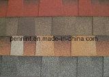 Baumaterial-bunte Asphalt-Schindeln für konkretes Dach