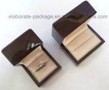 Оптовая продажа коробки изготовленный на заказ ювелирных изделий высокого качества деревянных упаковывая