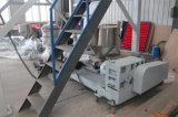 Máquina de sopro superior da película fina da rotação da tração da co-extrusão dupla da camada