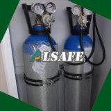 15liter救急車によって採用されるアルミニウム医学O2ガスタンクへの10liter
