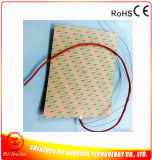 Chaufferette de silicones/couvre-tapis de chauffage/garniture flexibles 24V pour l'imprimante 3D