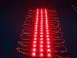 Модуль впрыски 3LEDs СИД красного света 5054