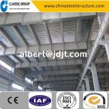 三階建ての容易なアセンブリ鉄骨構造の倉庫か研修会または格納庫2016年