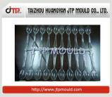 Molde elevado do lustro de 24 moldes plásticos/molde da colher de Injcection das cavidades