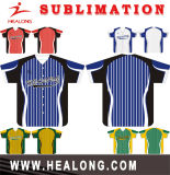 Healong Sportkleidung-Form-voller Sublimationmens-Baseball Jersey