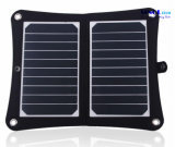 10W 5V Sunpower 2- Carregador de painel solar dobrável com controlador de tensão interna para telefones inteligentes, iPhone, iPad, Power Bank, bateria 3.7V (FSC-10AT)