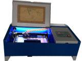 machines d'estampille de laser du CO2 40W pour la qualité en caoutchouc 200*300mm