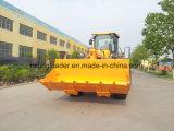 Maquinaria de mineração pesada 5 toneladas de carregador da roda