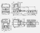 شاحنة [3د] أربعة عجلة يعيّن جهاز