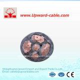 5 câbles électriques de conducteur d'en cuivre de basse tension de faisceau