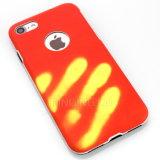 Descoloración del calor cambia la caja del teléfono del color para el iPhone 7 7plus