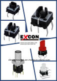 Interruptores ligeros materiales durables seguros del tacto del Excon Ts6