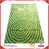 スリップ防止ホームエリアの敷物ポリエステルL 3Dのシャギーなカーペットか敷物
