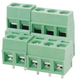 Wanjie Double Level PCB Screw / Rising Clamp Terminal Block (WJEK350B-3.5)