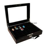 Коробка индикации хранения кольца отделки рояля деревянная