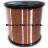 Alumínio folheado do fio folheado de cobre do CCA