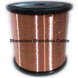 Aluminio revestido del alambre revestido de cobre del CCA