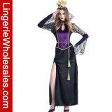 Vampir-Abendkleid Cosplay Kostüm der verlockenden Frauen für Halloween-Partei