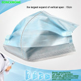 Fabric non tessuto Disposable Face Mask con Earloop Ties