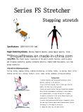 Bodayの練習のためのElecticeの足Stretche
