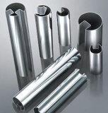 Tubo de la ranura del acero inoxidable ASTM-A554 304 316 para la barandilla